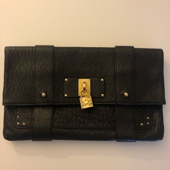 Marc Jacobs Handbags - Marc Jacobs Clutch with Gold Stud Detail